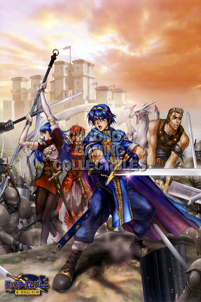 CGC Huge Poster - Fire Emblem Shadow Dragon Nintendo DS 3DS - FEM019