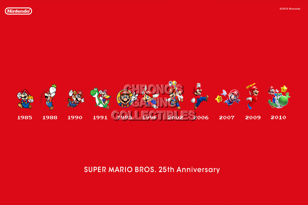 CGC Huge Poster - Mario 25th Anniversary - MAR017