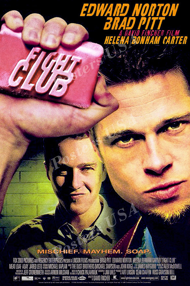 Posters USA - Fight Club Movie Poster GLOSSY FINISH - MOV098