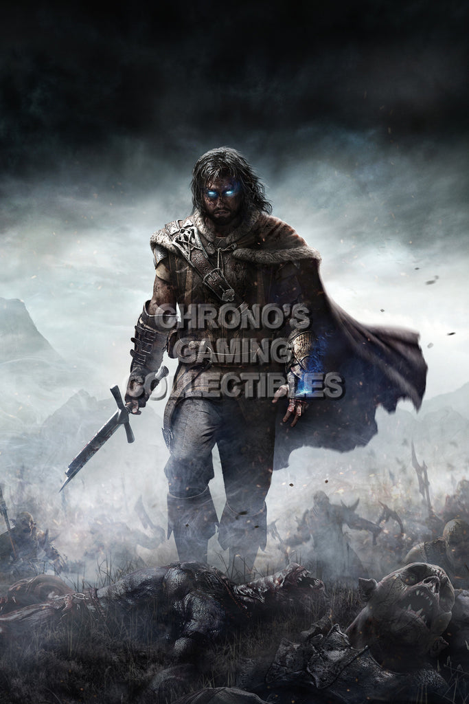 CGC Huge Poster - Shadow of Mordor - PS3 PS4 XBOX 360 ONE - SOM008