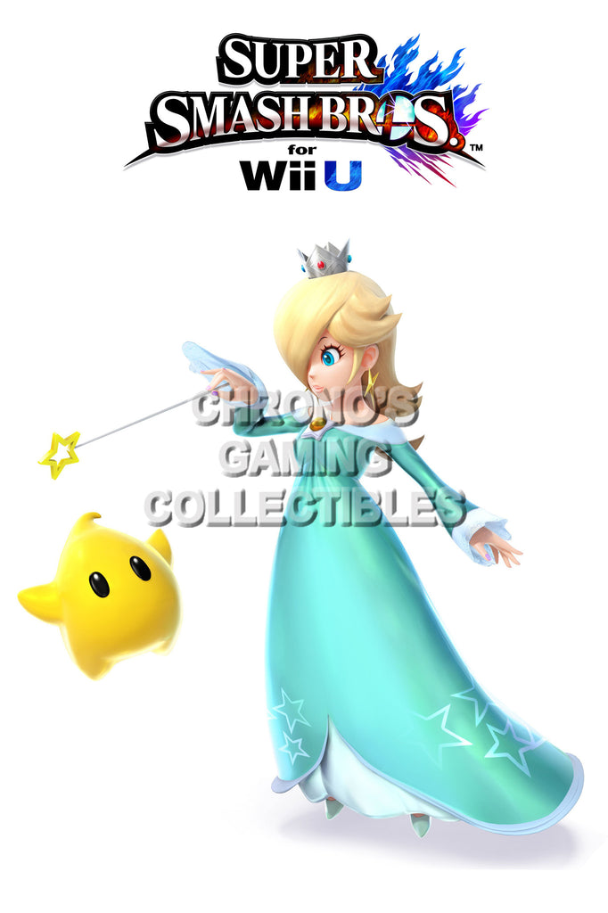 CGC Huge Poster - Super Smash Bros. Wii U 3DS  Rosalina and Luma - SMAC41