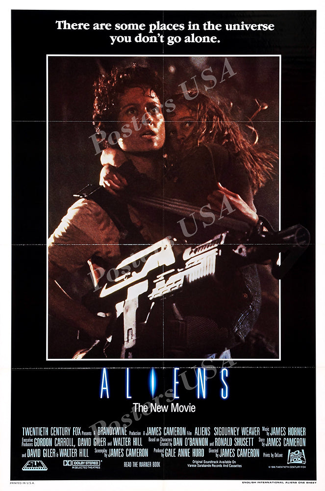 Posters USA - Aliens Movie Poster GLOSSY FINISH - MOV036