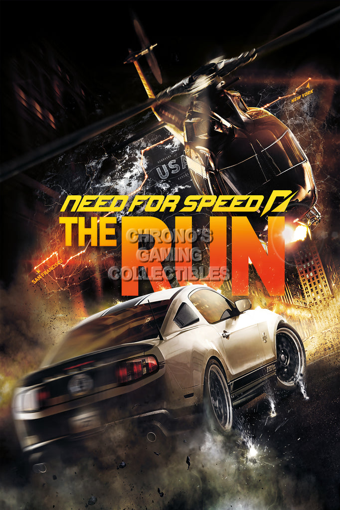 CGC Huge Poster - Need for Speed The Run PS3 XBOX 360 - NFS007