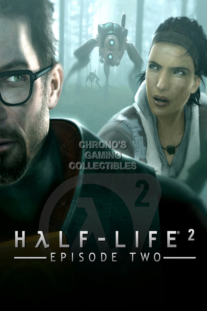 CGC Huge Poster - Half Life 2 - PS3 XBOX 360 PC - HLI006