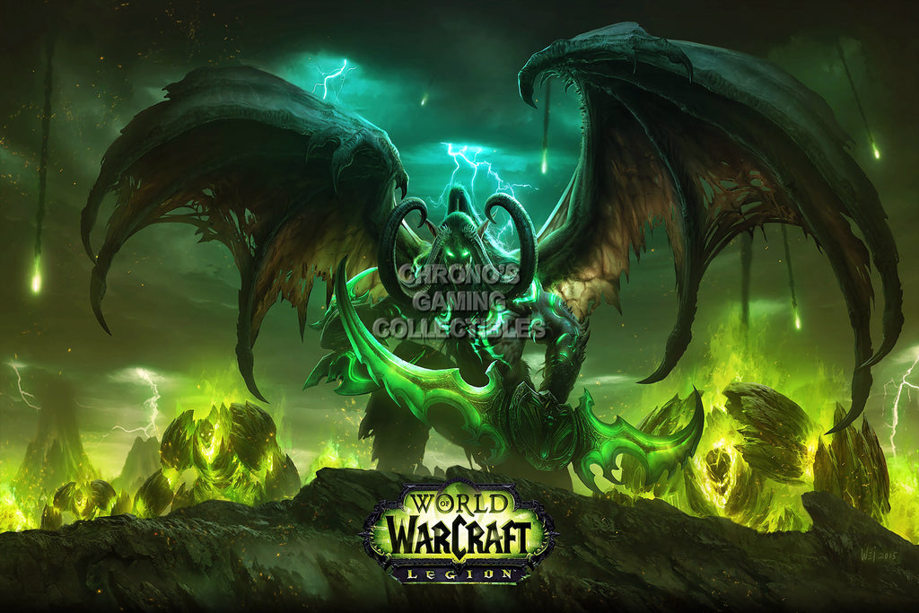 CGC Huge Poster - World of Warcraft Legion PC - EXT170