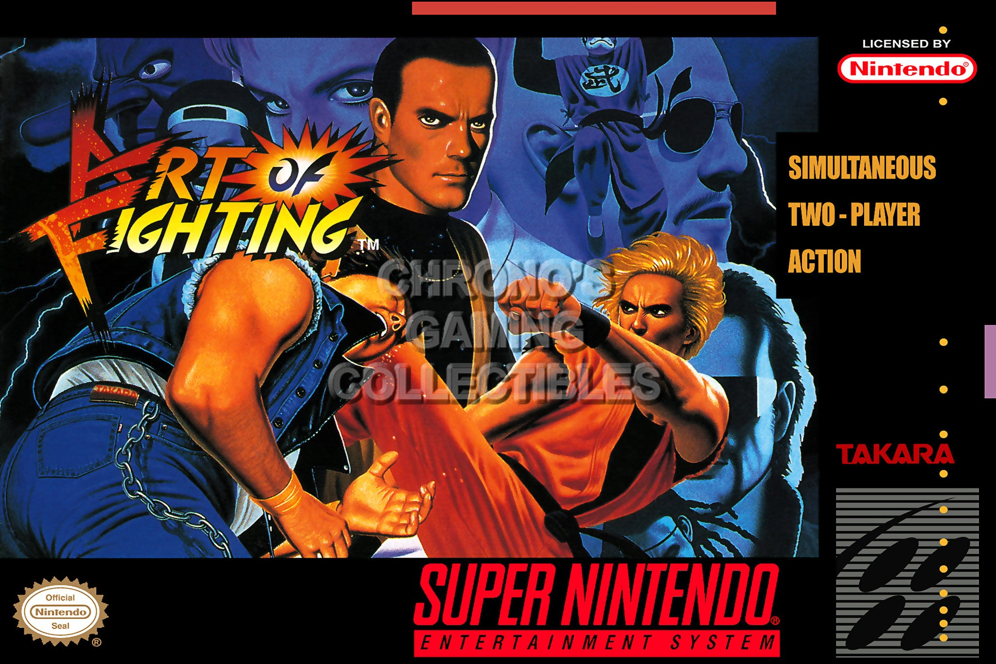 Classic SNES Poster
