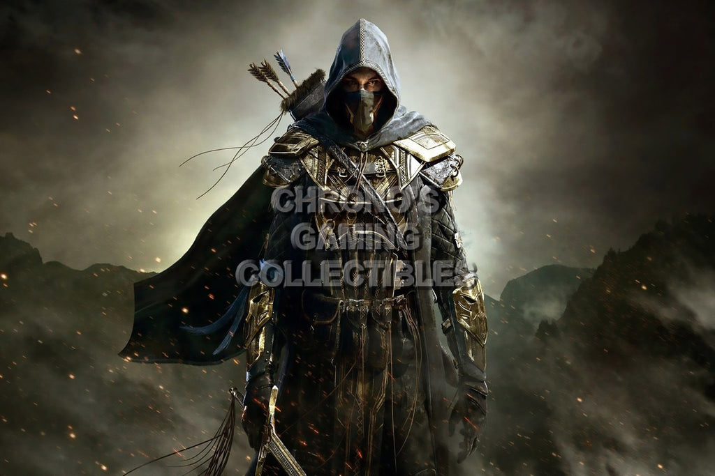 CGC Huge Poster - Elder Scrolls Online XBOX 360 ONE PS3 PS4 - EDS013