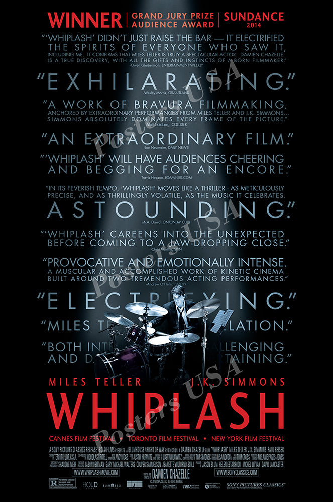Posters USA - Whiplash Movie Poster GLOSSY FINISH - MOV996