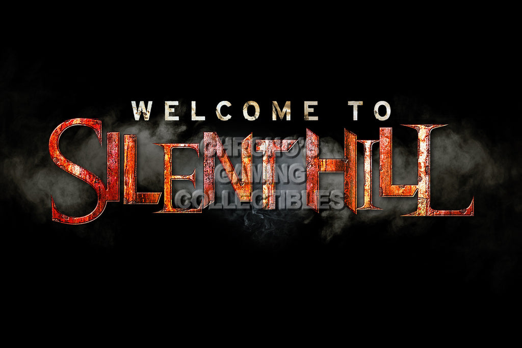 CGC Huge Poster - Silent Hill Welcome - PS1 PS2 PS3 XBOX 360 - SIL012