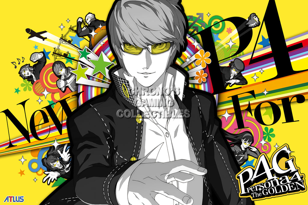 CGC Huge Poster - Persona 4 PS2 Playstation Vita - PER403