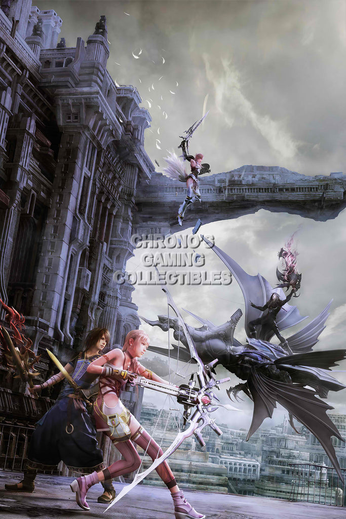 CGC Huge Poster - Final Fantasy XIII Lightning Returns PS3 PS4 XBOX 360 - FXIII008