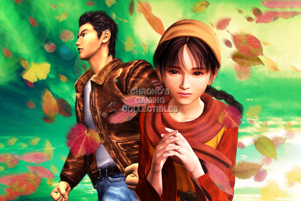 CGC Huge Poster - Shenmue Ryo and Shenhua DreamcastS - SHE010
