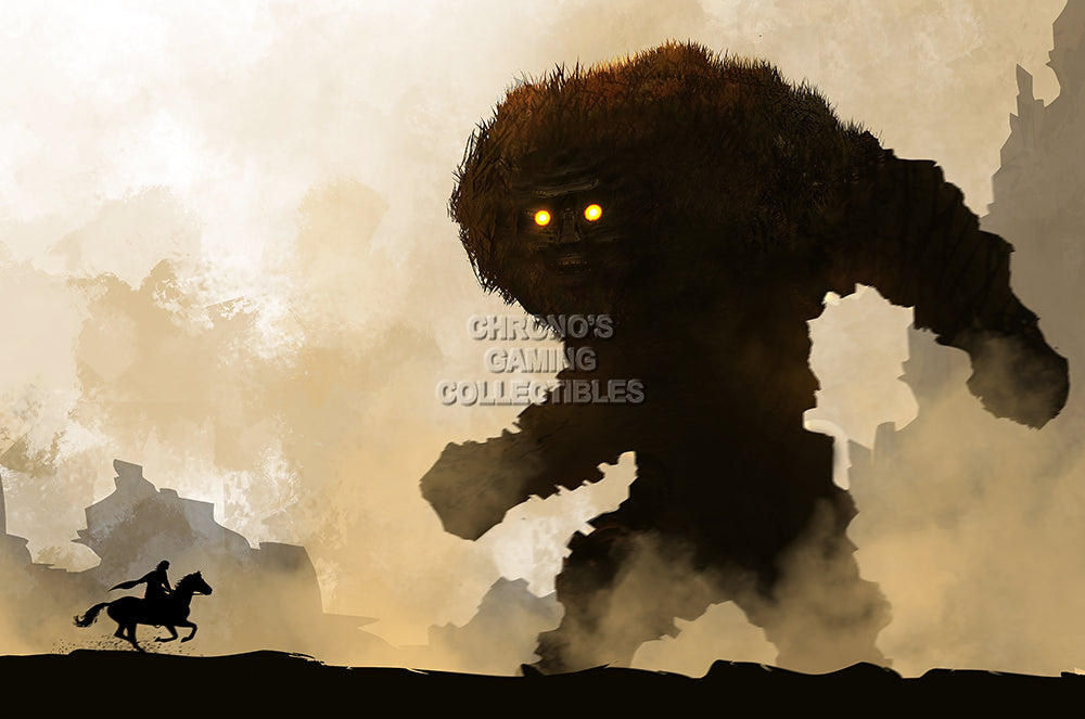 CGC Huge Poster GLOSSY FINISH - Shadow of the Colossus PS4 PS3 PS2 - EXT936