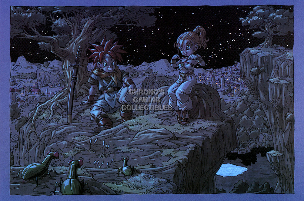 CGC Huge Poster GLOSSY FINISH - Chrono Trigger Super Nintendo SNES DS 3DS- EXT575