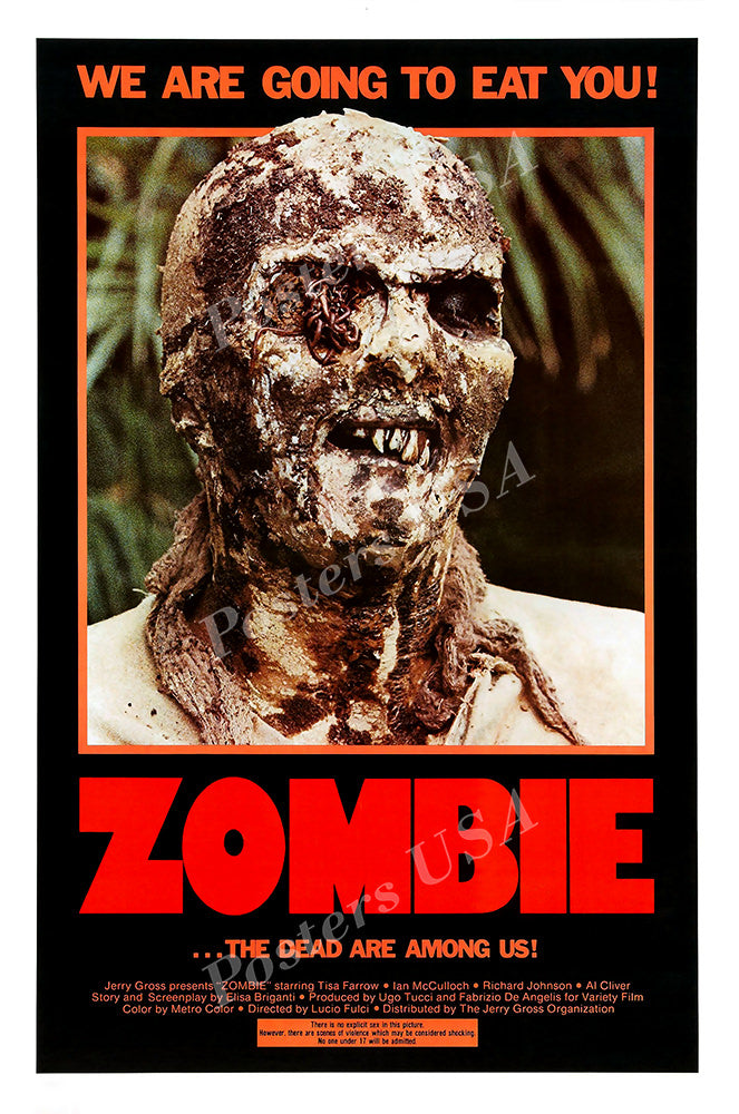 Posters USA - Zombie 2 Flesh Eaters Woodoo GLOSSY FINISH Movie Poster - FIL975