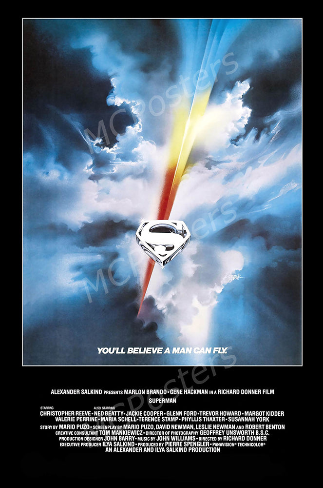 MCPosters - Superman 1978 GLOSSY FINISH Movie Poster - MCP914