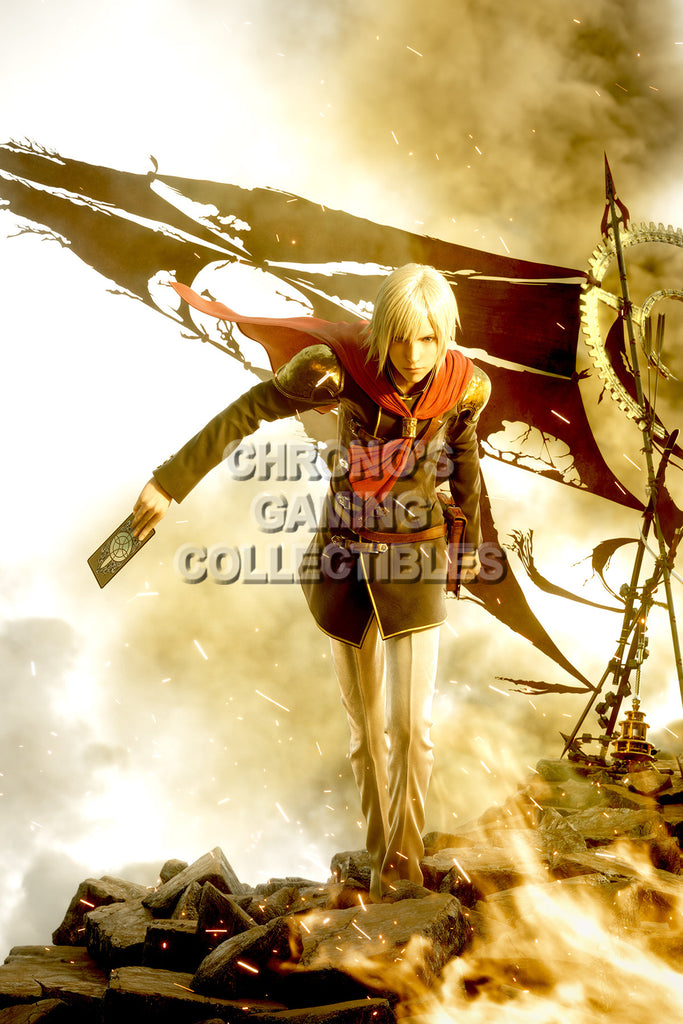 CGC Huge Poster - Final Fantasy Type-0 Zero PS3 PS4 XBOX 360 One - FTZ010