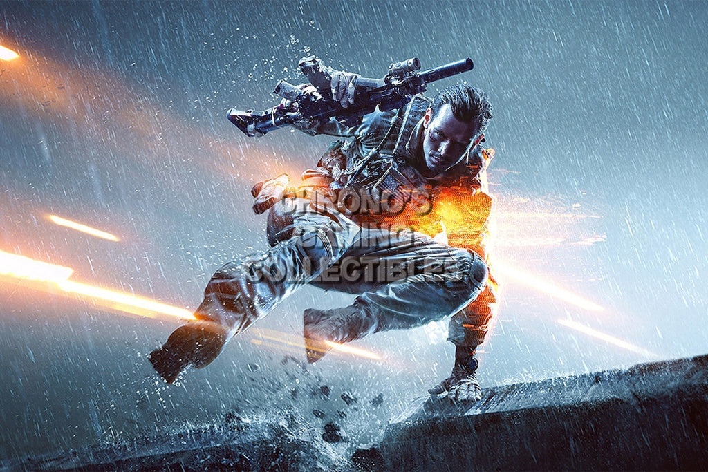 CGC Huge Poster - Battlefield 4 PS3 PS4 XBOX 360 ONE - BAF014