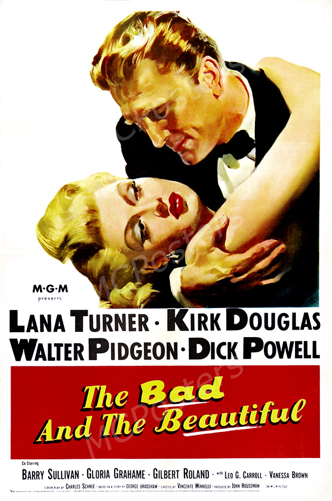 MCPosters - The Bad and the Beautiful GLOSSY FINISH Movie Poster - MCP915