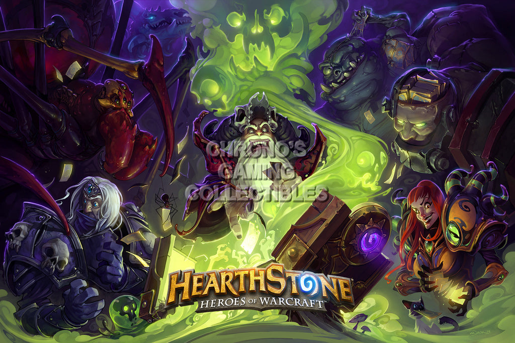 CGC Huge Poster - Hearthstone Heroes of Warcraft  - HEA012