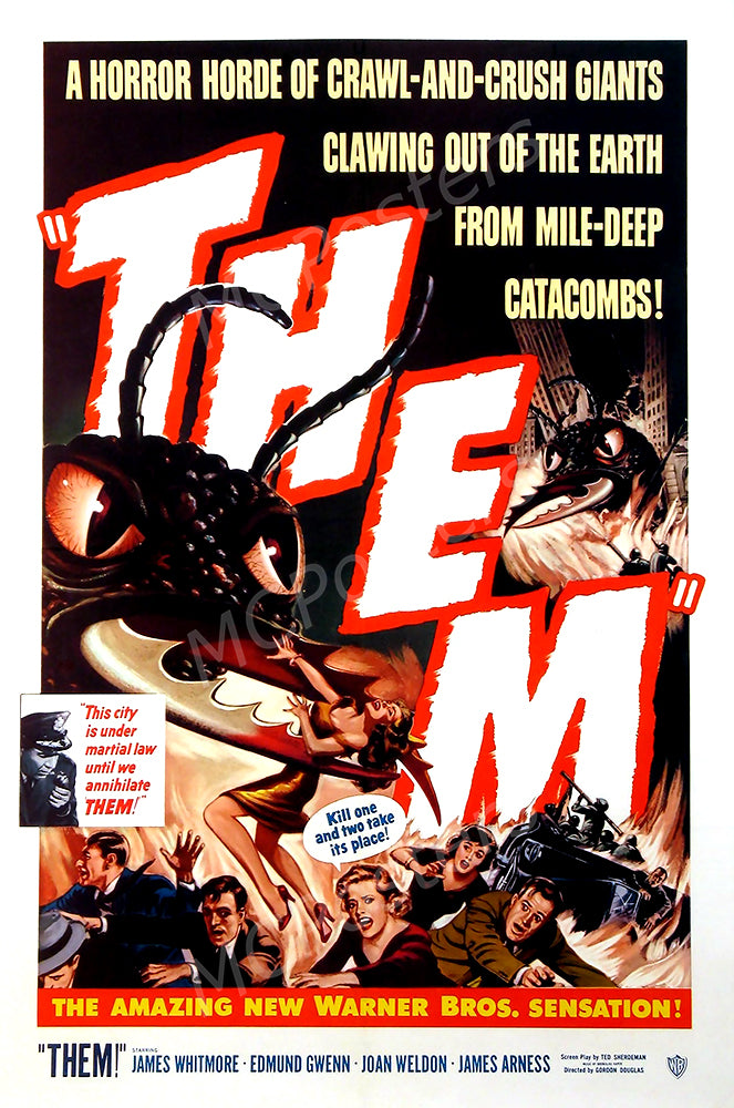MCPosters - Them GLOSSY FINISH Movie Poster - MCP921