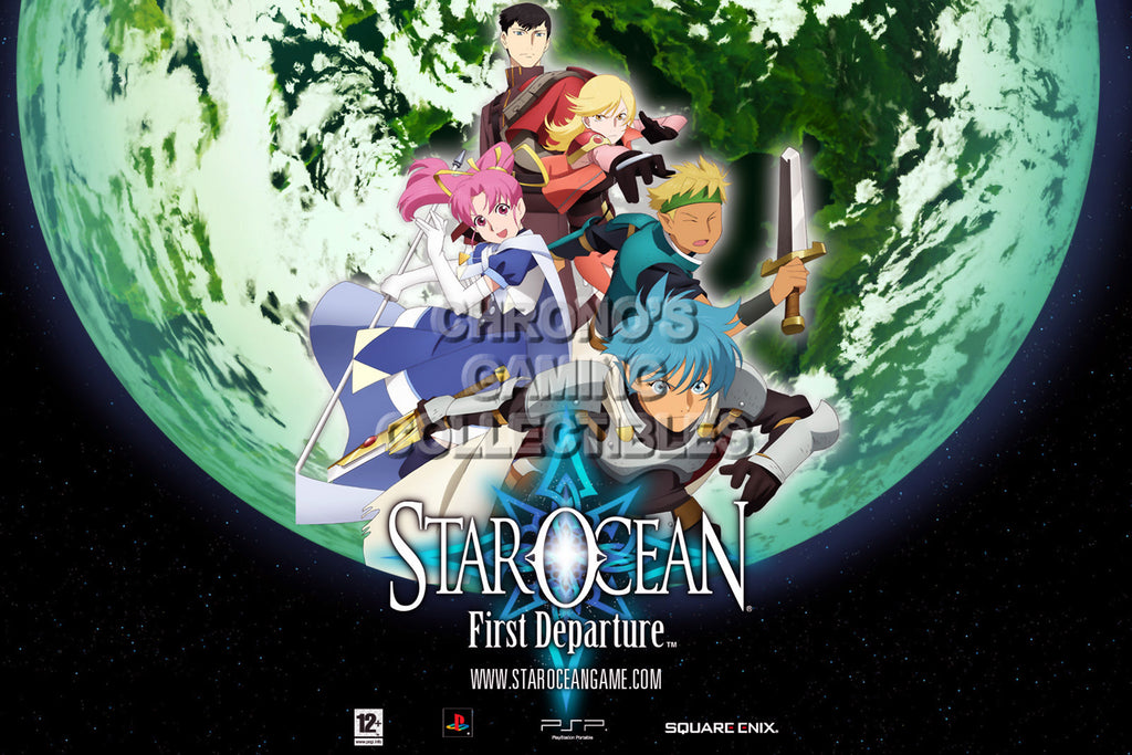 CGC Huge Poster - Star Ocean First Departure PS1 PS2 PS3 PSP - STAR03
