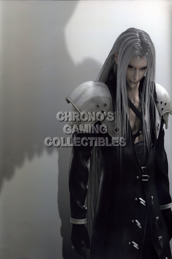 CGC Huge Poster - Final Fantasy VII Advent Children Sephiroth PS1 PSP - FVII052