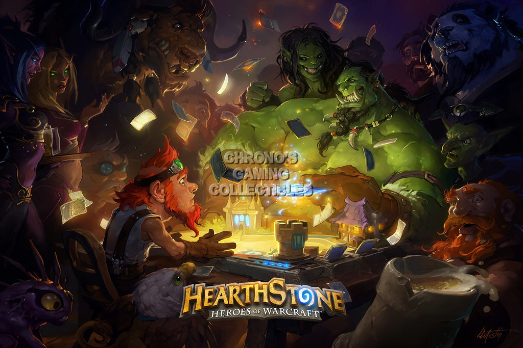CGC Huge Poster - Hearthstone Heroes of Warcraft - HEA010