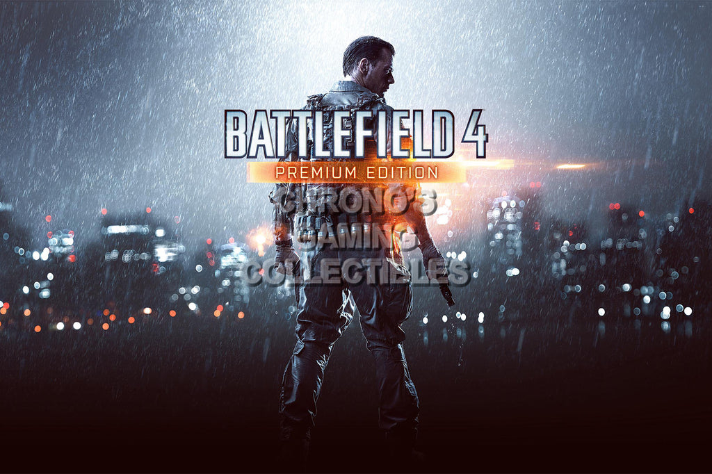 CGC Huge Poster - Battlefield 4 PS3 PS4 XBOX 360 ONE - BAF011