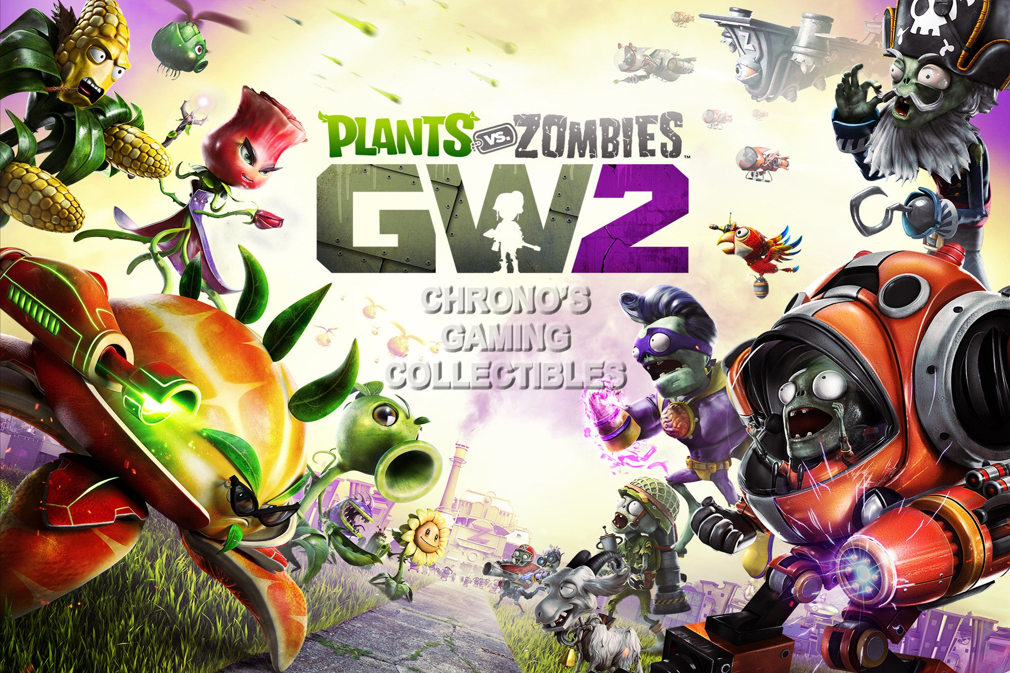 Beautiful Plants Vs Zombies Garden Warfare Poster