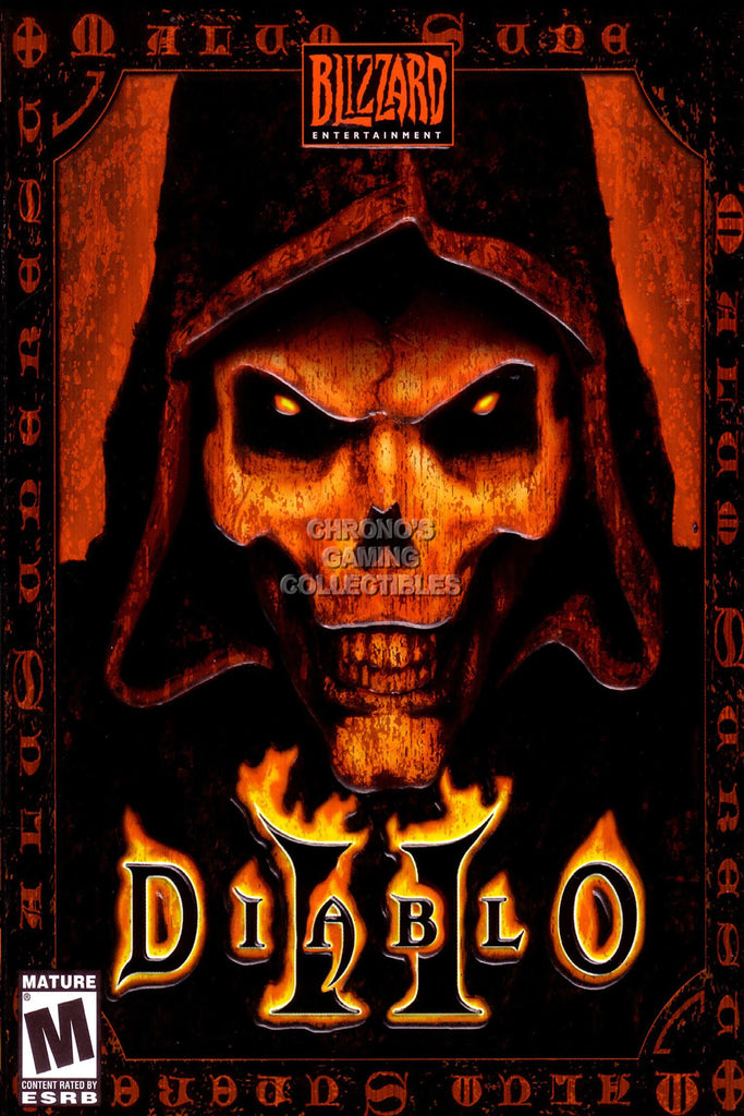 CGC Huge Poster GLOSSY FINISH - Diablo 2 PC Box Art - EXT022