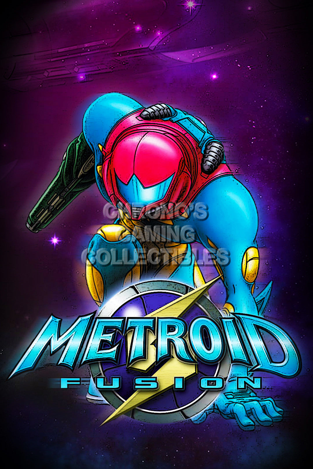 Metroid Video Games Poster