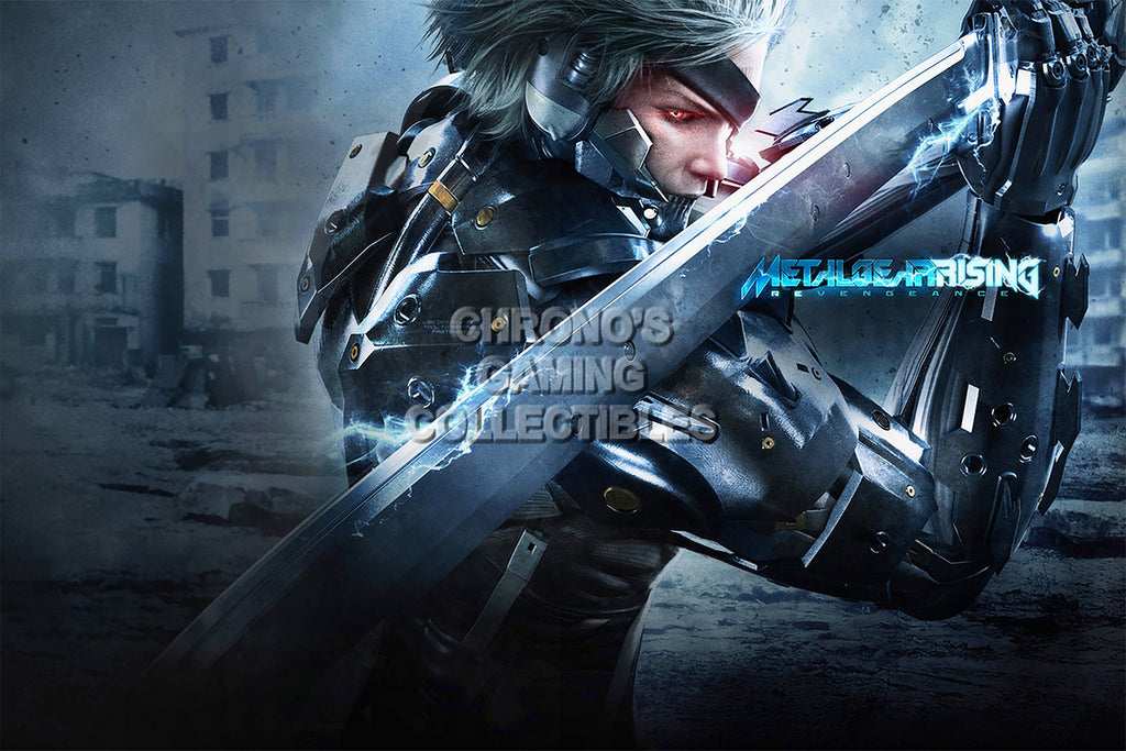 CGC Huge Poster - Metal Gear Rising Revengeance PS3 XBOX 360 - MGR001
