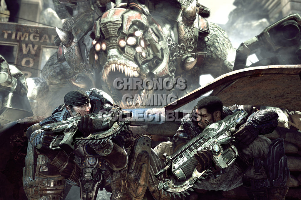 CGC Huge Poster - Gears of War XBOX 360  - GAS001