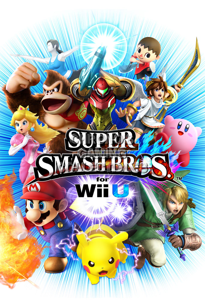 CGC Huge Poster - Super Smash Bros. Wii U 3DS Art 11- SMA015