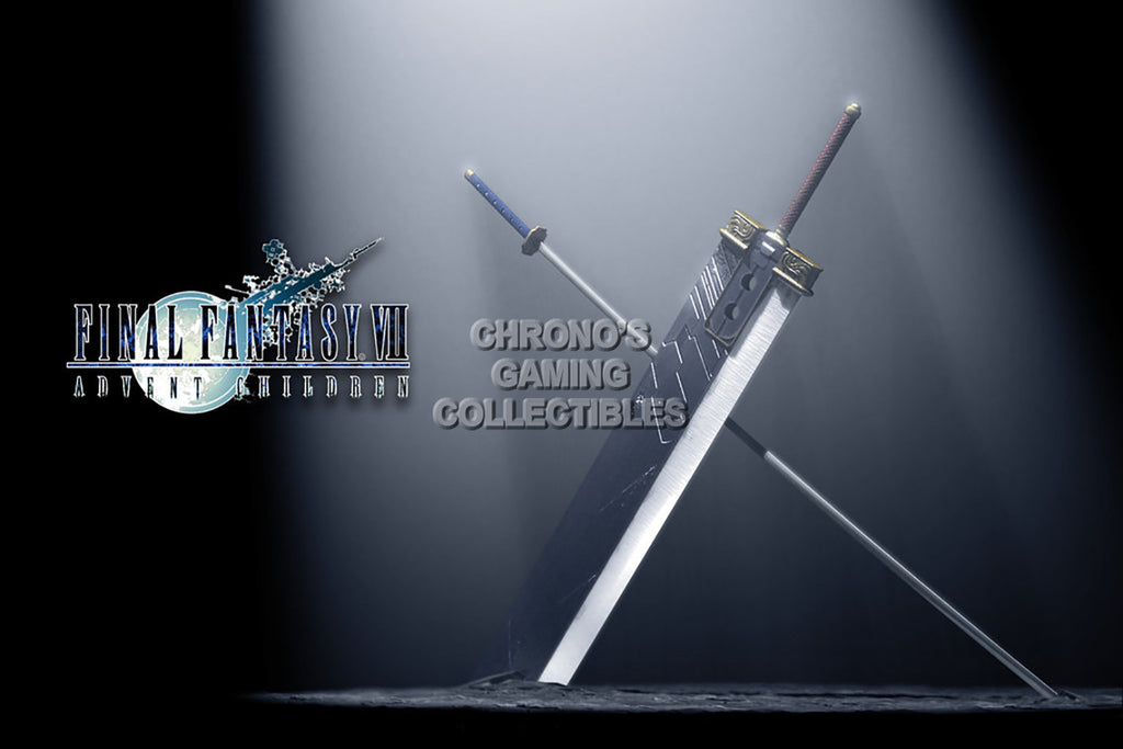 CGC Huge Poster - Final Fantasy VII Buster Sword and Musamune PS1 PSP - FVII035