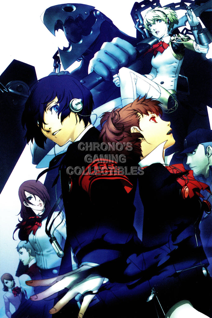 CGC Huge Poster - Persona 3 PS2 PSP - PER308