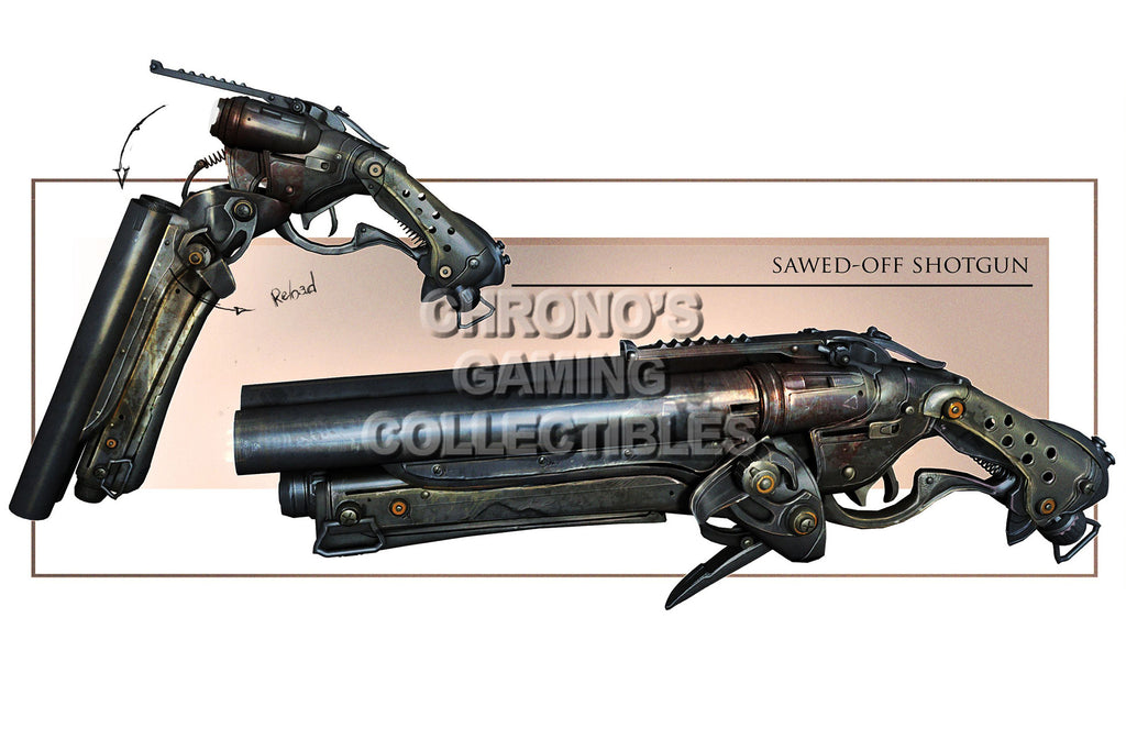 CGC Huge Poster - Gears of War 3 Sawed-off Shotgun XBOX 360  - GAS021