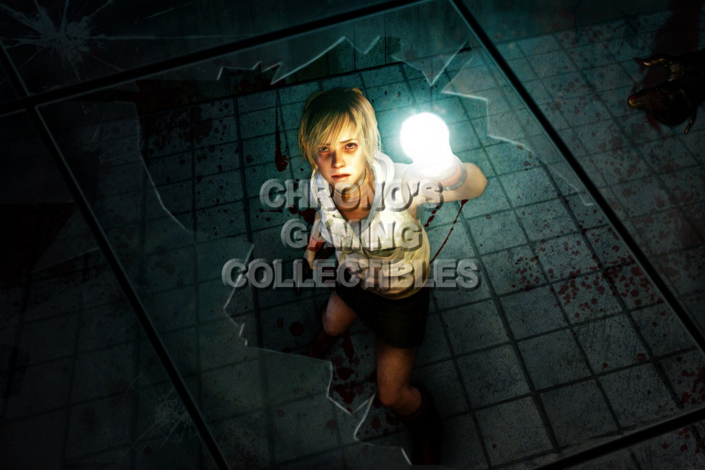 CGC Huge Poster - Silent Hill 3 Heather Mason - PS2 PS3 XBOX 360 - SIL004