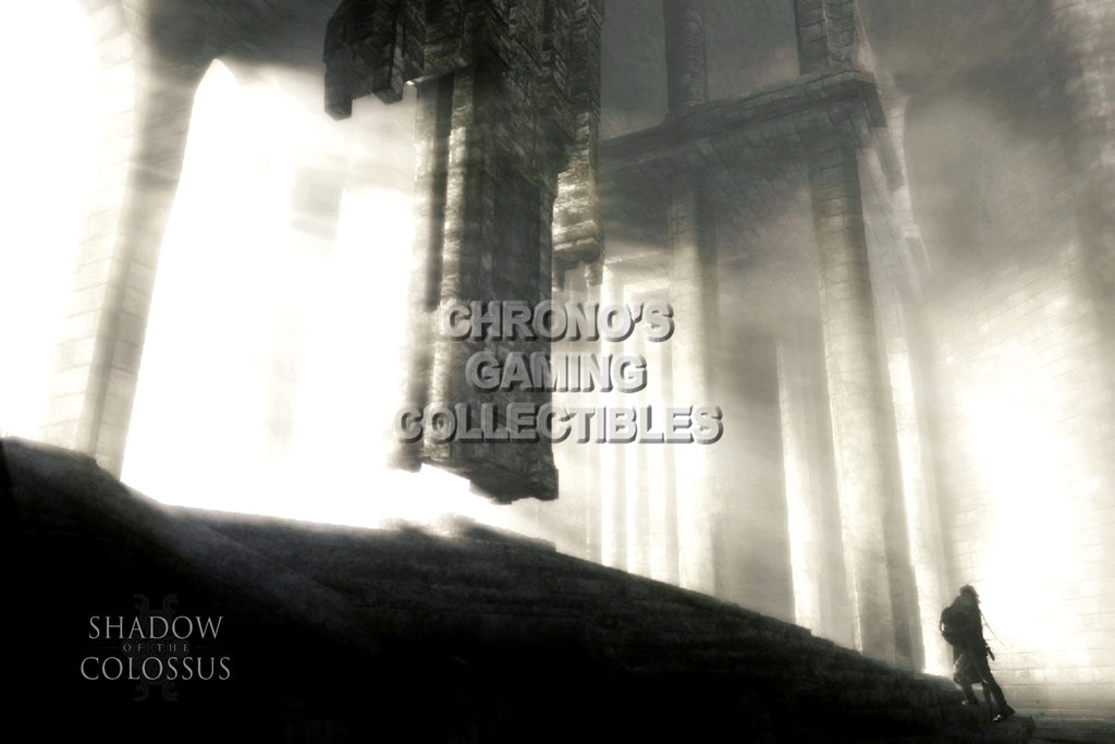 CGC Huge Poster - Shadow of the Colossus - PS2 PS3 - SOC003
