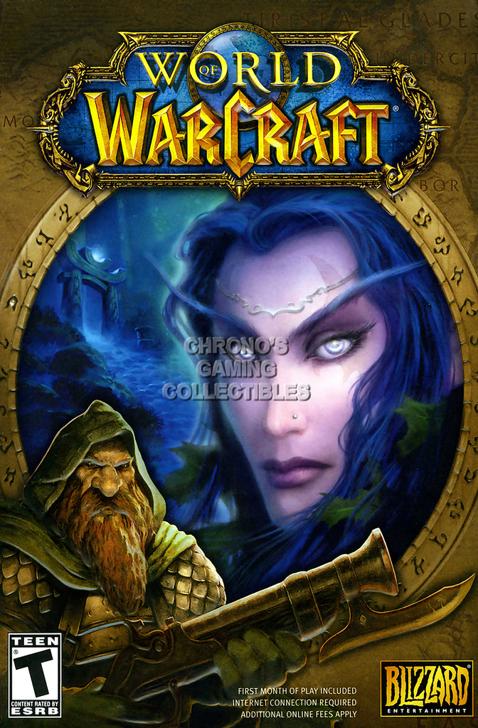 CGC Huge Poster - World of Warcraft Base SET BOX ART PC - EXT175