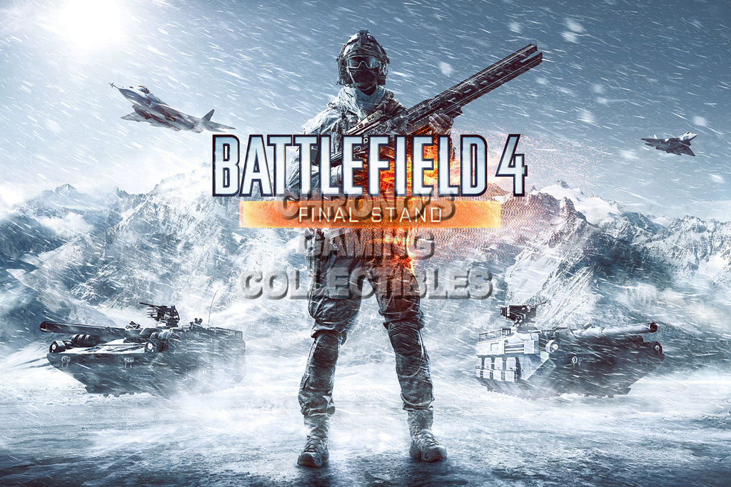 CGC Huge Poster - Battlefield 4 Final Stand - PS3 PS4 XBOX 360 ONE - BAF017