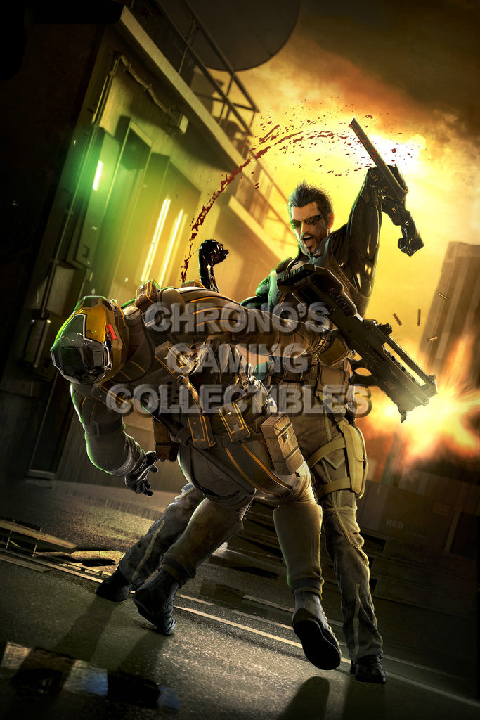 CGC Huge Poster - Deus Ex Human Revolution - PS3 PS4 XBOX 360 ONE - DEU003