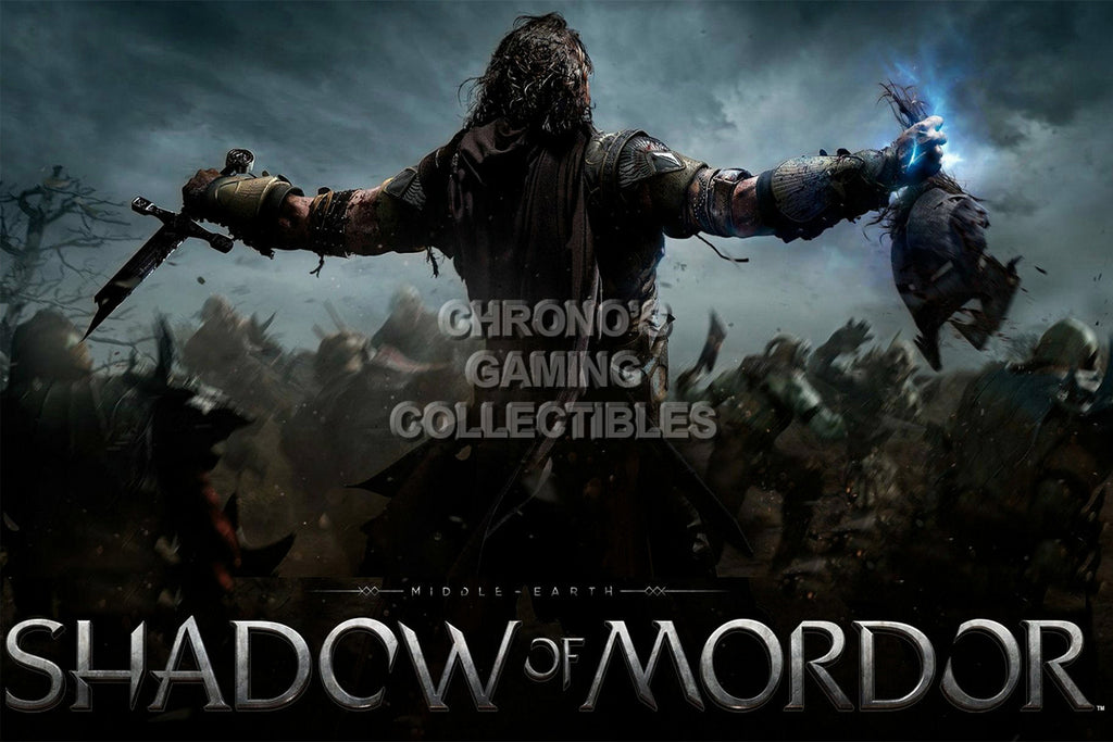 CGC Huge Poster - Shadow of Mordor - PS3 PS4 XBOX 360 ONE - SOM004