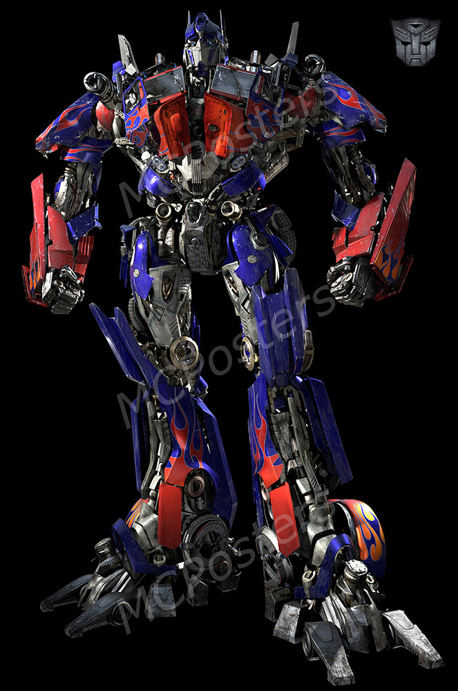 MCPosters - Transformers Optimus Prime GLOSSY FINISH Movie Poster - MCP923