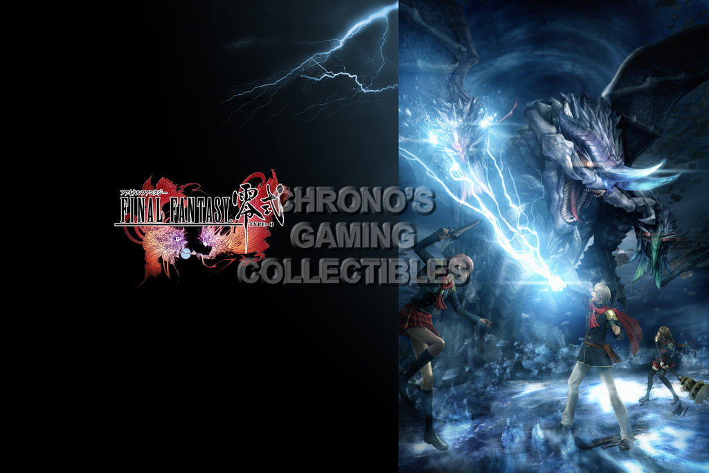 CGC Huge Poster - Final Fantasy Type-0 Zero PS3 PS4 XBOX 360 One - FTZ008