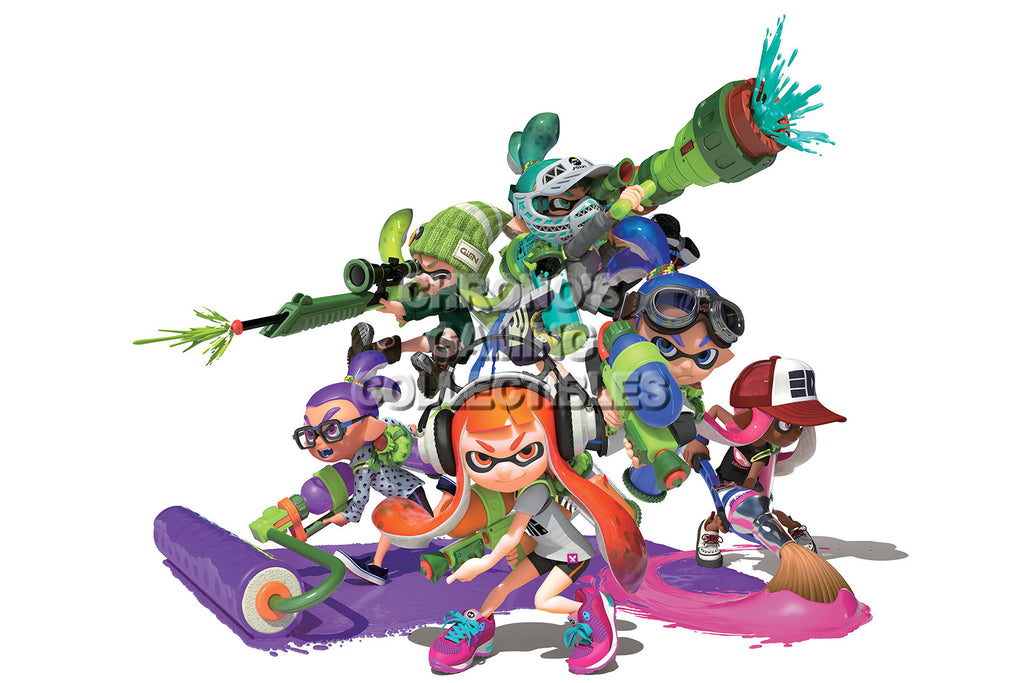 CGC Huge Poster - Splatoon - Wii U - SPA001