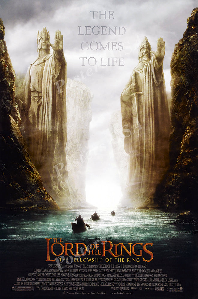 Posters USA - The Lord of the Rings The Fellowship of the Ring Movie Poster GLOSSY FINISH - MOV156