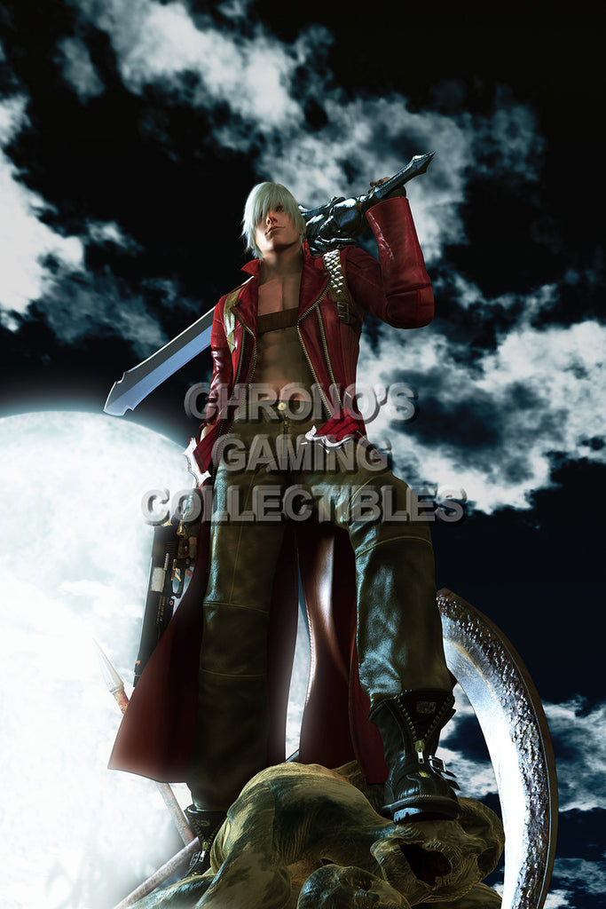 CGC Huge Poster - Devil May Cry - PS2 PS3 XBox 360 - DMC003