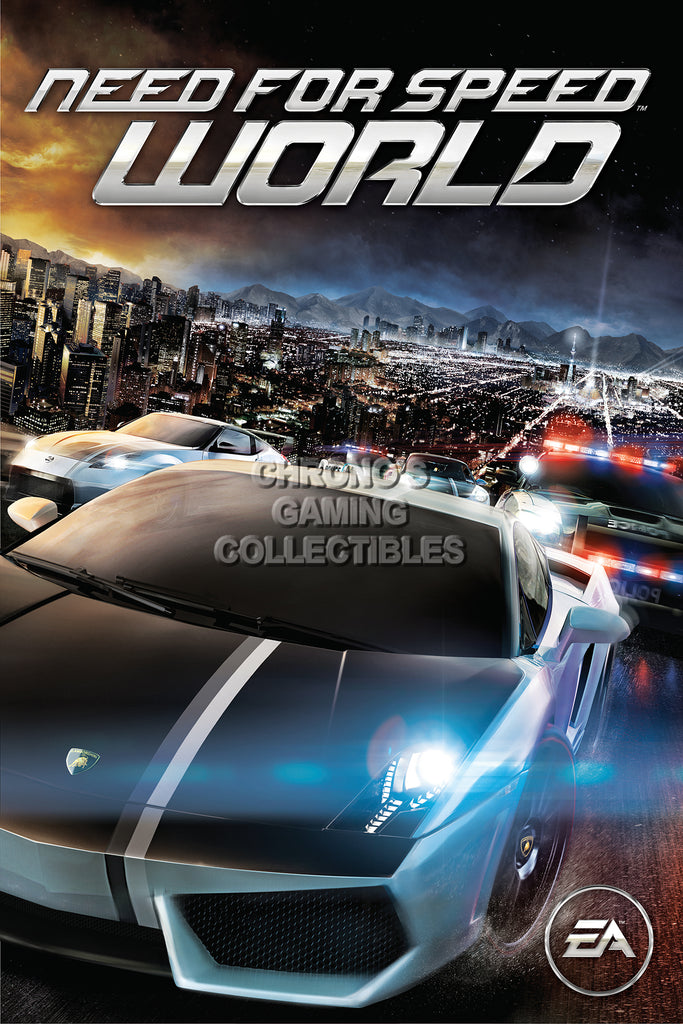 CGC Huge Poster - Need for Speed World PS3 XBOX 360 - NFS008